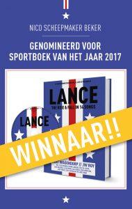 LANCE Sportboek van het jaar 2017