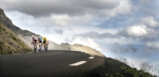 Fight on the Galibier